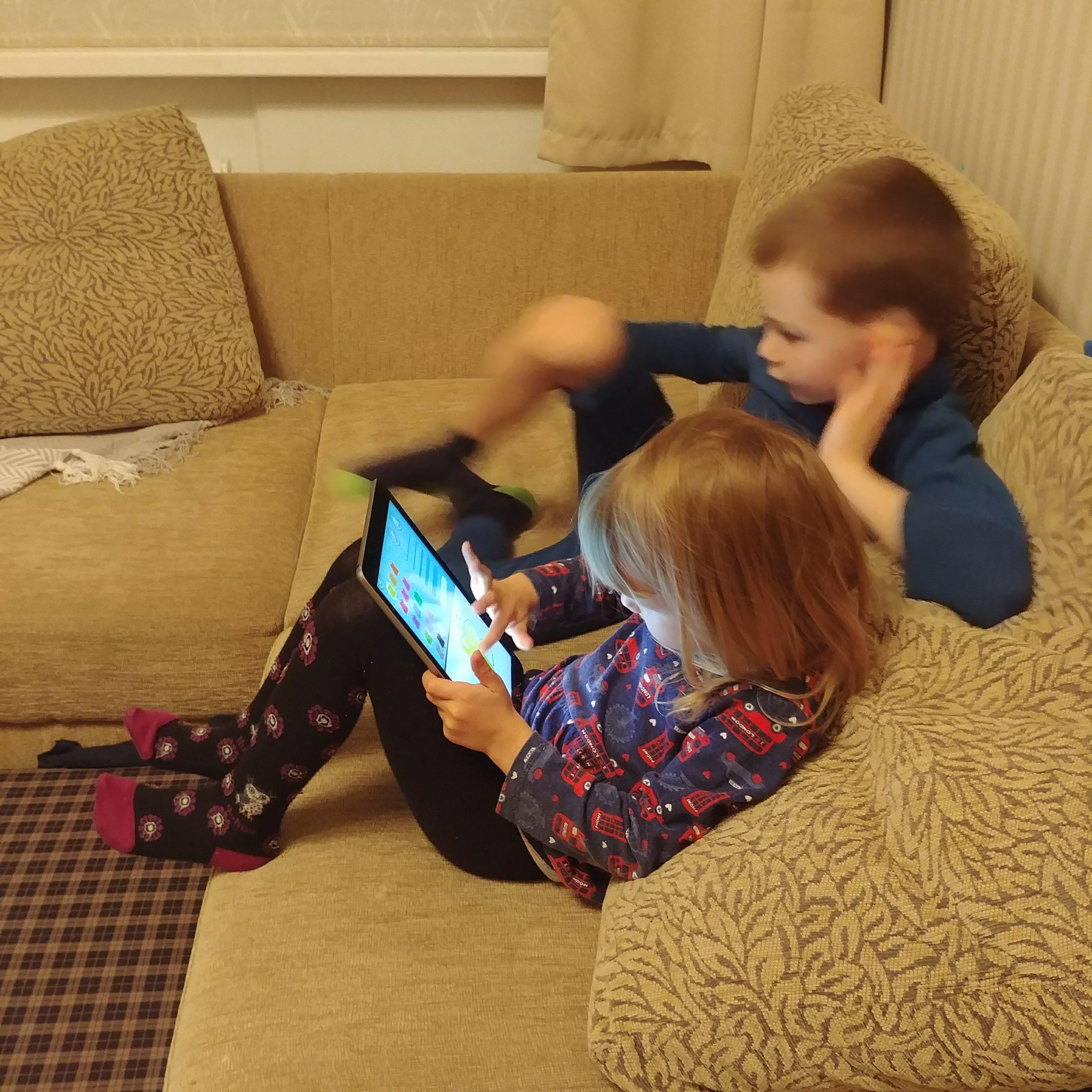 Laste ekraaniaeg